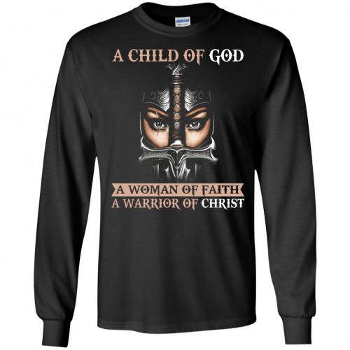 A Child Of God A Woman Of Faith shirt, tank, racerback - image 403 500x500