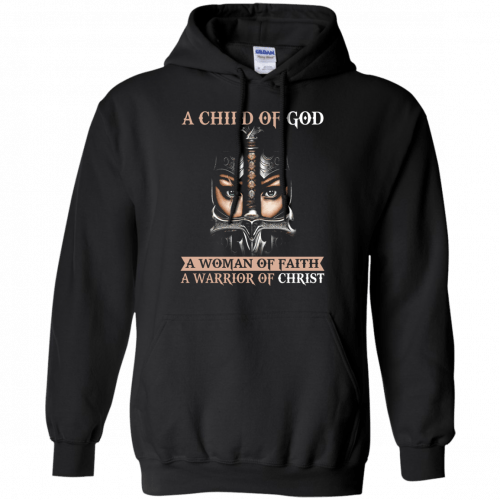 A Child Of God A Woman Of Faith shirt, tank, racerback - image 405 500x500