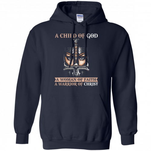 A Child Of God A Woman Of Faith shirt, tank, racerback - image 406 500x500