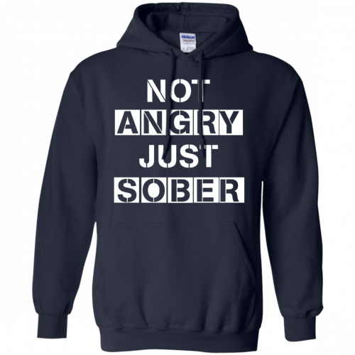 Not Angry Just Sober t-shirt, racerback - image 503 500x500