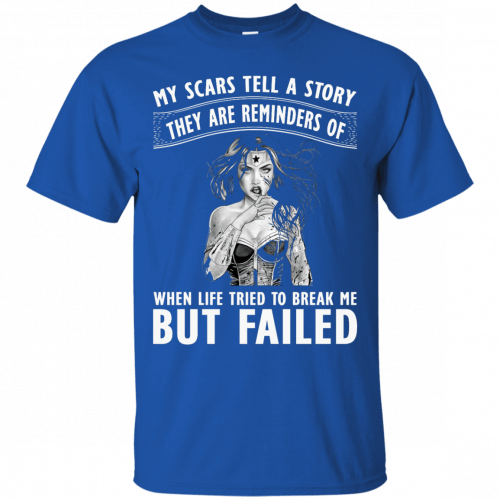 Wonder Woman: My scars tell a story they are reminders t-shirt - image 76 500x500