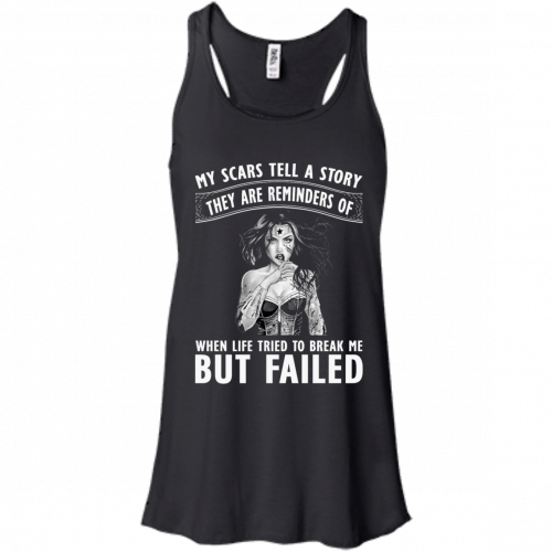 Wonder Woman: My scars tell a story they are reminders t-shirt - image 78 500x500