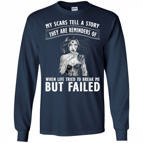 Wonder Woman: My scars tell a story they are reminders t-shirt - image 80 500x500