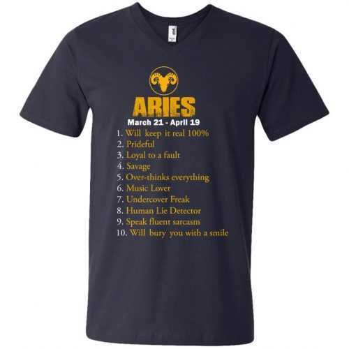 Zodiac Aries: Will make it real 100% shirt, tank, hoodie - image 10 500x500
