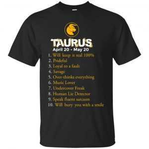 Zodiac Taurus: Will make it real 100% shirt, tank, hoodie - image 115 300x300