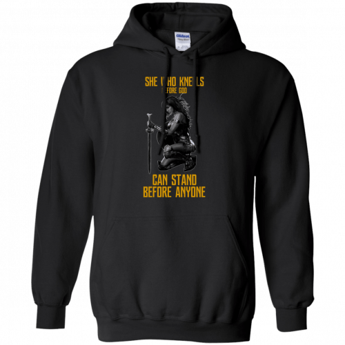 Wonder Woman: She Who Kneel Before God Can Stand Before Anyone shirt - image 121 500x500