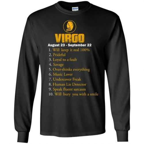 Zodiac Virgo: Will make it real 100% shirt, tank, hoodie - image 133 500x500