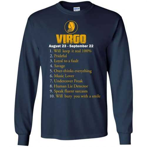 Zodiac Virgo: Will make it real 100% shirt, tank, hoodie - image 134 500x500