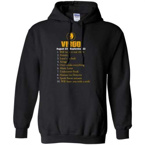 Zodiac Virgo: Will make it real 100% shirt, tank, hoodie - image 135 500x500