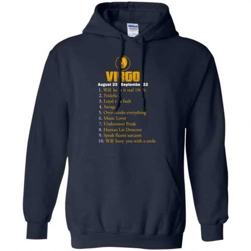 Zodiac Virgo: Will make it real 100% shirt, tank, hoodie - image 136 500x500