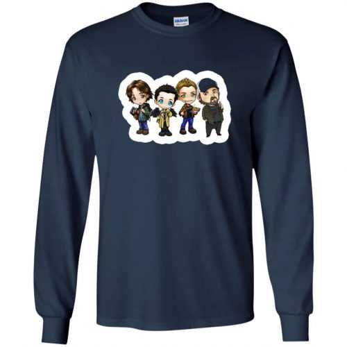 Supernatural: Sam Dean Castiel Idjit t-shirt, long sleeve - image 1645 500x500