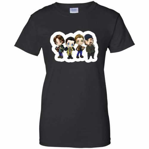 Supernatural: Sam Dean Castiel Idjit t-shirt, long sleeve - image 1650 500x500