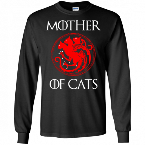 Game of Thrones: Mother of Cats shirt, tank top, hoodie - image 209 500x500