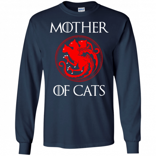 Game of Thrones: Mother of Cats shirt, tank top, hoodie - image 210 500x500