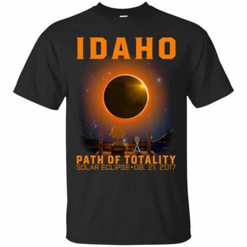 Snoopy: Idaho Path of totality solar eclipse shirt - image 286 500x500