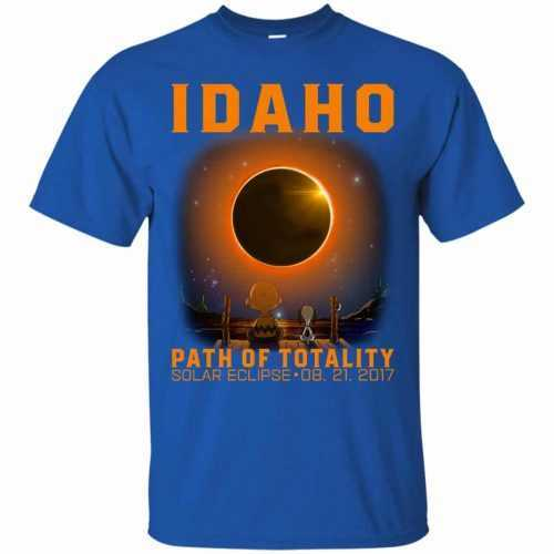 Snoopy: Idaho Path of totality solar eclipse shirt - image 287 500x500