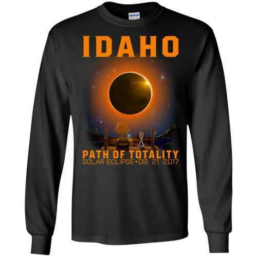 Snoopy: Idaho Path of totality solar eclipse shirt - image 291 500x500