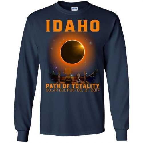 Snoopy: Idaho Path of totality solar eclipse shirt - image 292 500x500