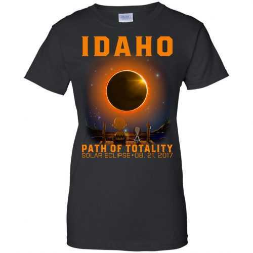 Snoopy: Idaho Path of totality solar eclipse shirt - image 297 500x500