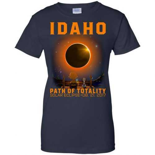 Snoopy: Idaho Path of totality solar eclipse shirt - image 298 500x500