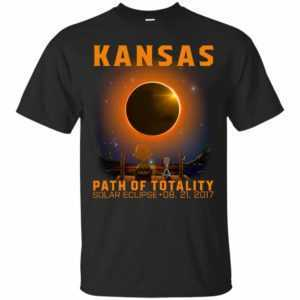 Snoopy: Kansas Path of totality solar eclipse shirt - image 312 300x300