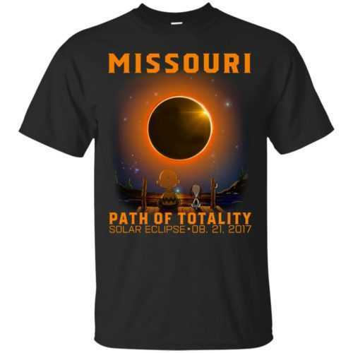 Snoopy: Missouri Path of totality solar eclipse shirt - image 338 500x500