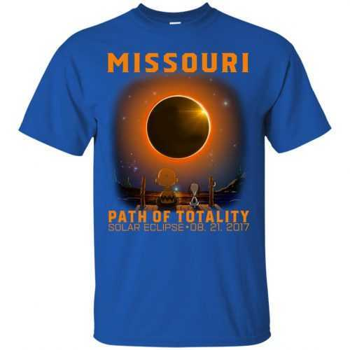 Snoopy: Missouri Path of totality solar eclipse shirt - image 339 500x500