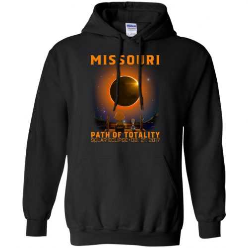 Snoopy: Missouri Path of totality solar eclipse shirt - image 345 500x500