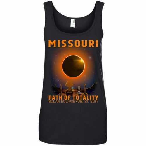 Snoopy: Missouri Path of totality solar eclipse shirt - image 347 500x500