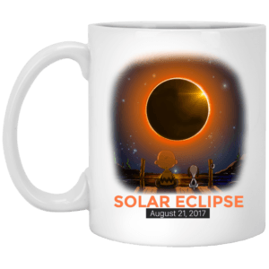 Charlie Brown and Snoopy Solar Eclipse 2017 mug - image 349 300x300