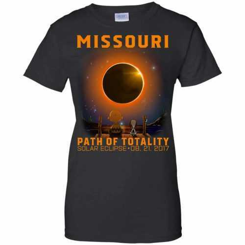 Snoopy: Missouri Path of totality solar eclipse shirt - image 349 500x500