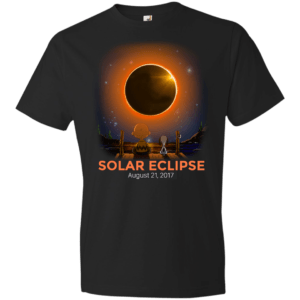 Charlie Brown & Snoopy Solar Eclipse kid shirt - image 377 300x300