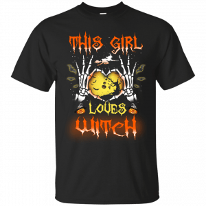 This girl loves Witch shirt, tank, hoodie - image 407 300x300