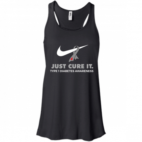 Just Cure It shirt: Type 1 Diabetes Awareness - image 54 500x500