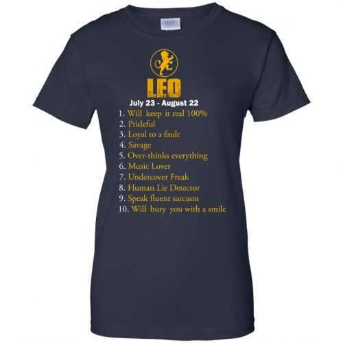 Zodiac Leo: Will make it real 100% shirt, tank, hoodie - image 62 500x500