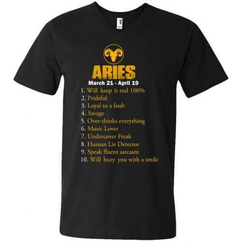 Zodiac Aries: Will make it real 100% shirt, tank, hoodie - image 9 500x500