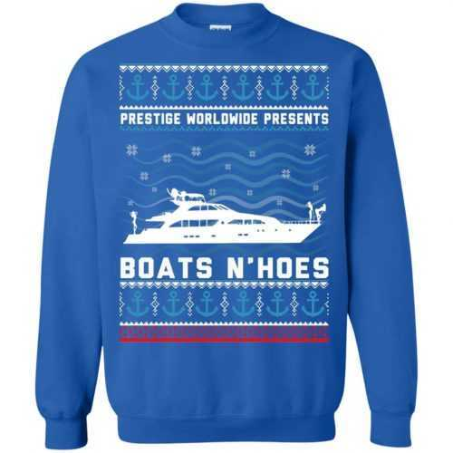 Prestige worldwide presents boats and hoes t-shirt, sweater - image 947 500x500