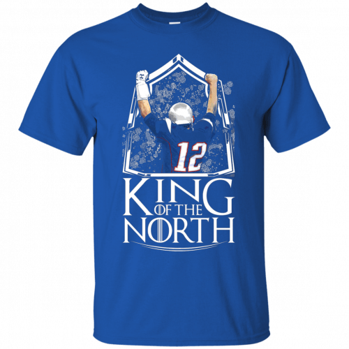 Tom Brady King Of The North t-shirt, tank top - image 100 500x500