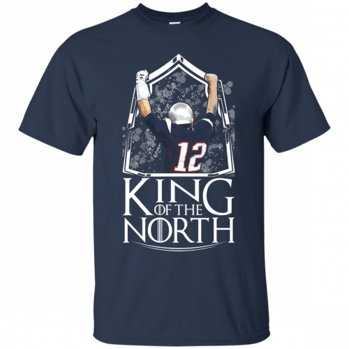 Tom Brady King Of The North t-shirt, tank top - image 101 500x500