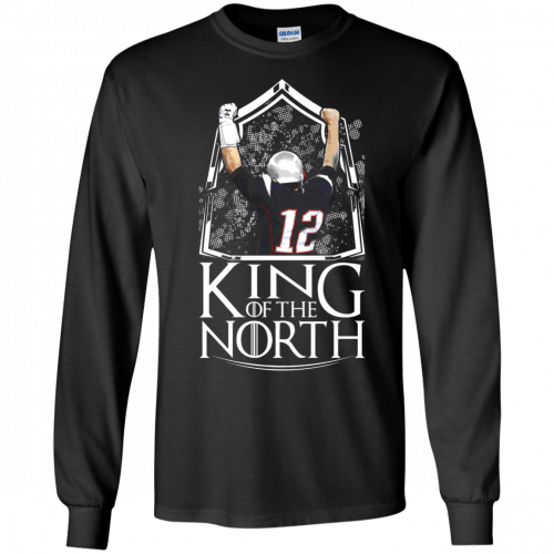 Tom Brady King Of The North t-shirt, tank top - image 102 500x500