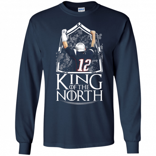 Tom Brady King Of The North t-shirt, tank top - image 103 500x500