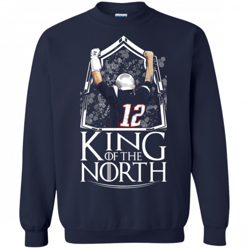Tom Brady King Of The North t-shirt, tank top - image 107 500x500