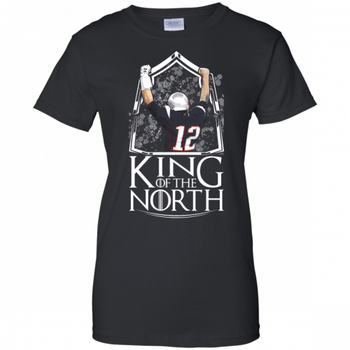Tom Brady King Of The North t-shirt, tank top - image 110 500x500