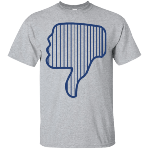 Yankees Thumbs Down t-shirt, tank, hoodie - image 1104 300x300