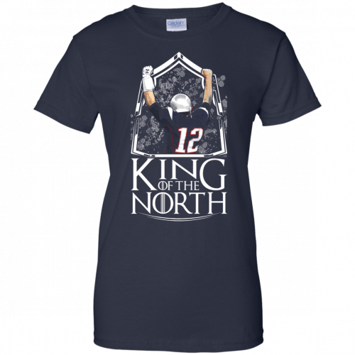 Tom Brady King Of The North t-shirt, tank top - image 111 500x500