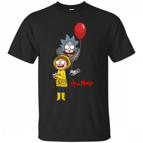 Halloween: IT and Morty shirt, hoodie, tank - image 138 500x500