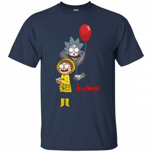 Halloween: IT and Morty shirt, hoodie, tank - image 140 500x500
