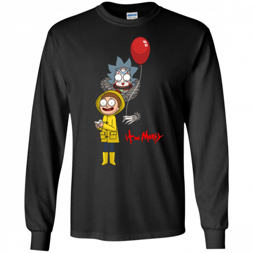 Halloween: IT and Morty shirt, hoodie, tank - image 141 500x500