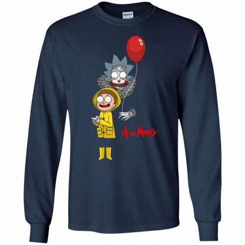 Halloween: IT and Morty shirt, hoodie, tank - image 142 500x500