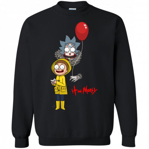 Halloween: IT and Morty shirt, hoodie, tank - image 145 500x500